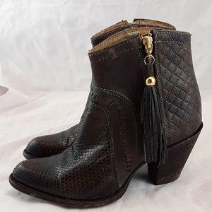 Cuadra Leather Western Boots